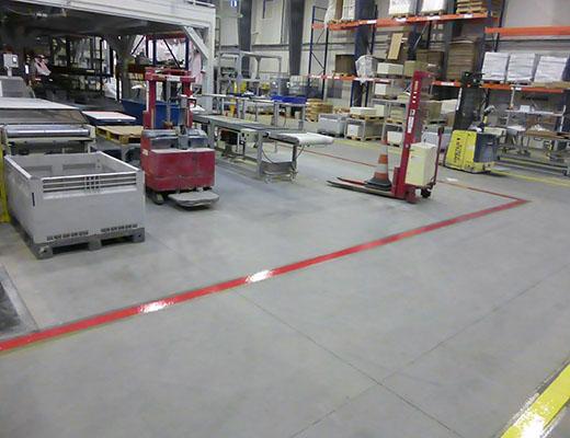 InFloor indoor marking