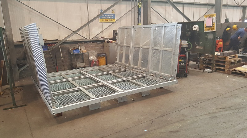 Galvanised Assist Lift Cover