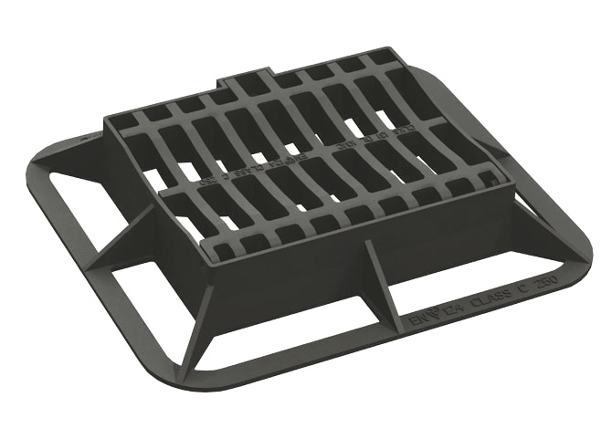 Dished Gully Grate