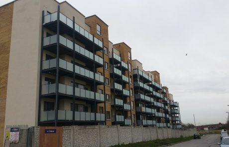 Galvanized balconies Finglas