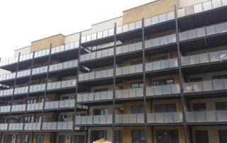 Galvanized balconies Finglas