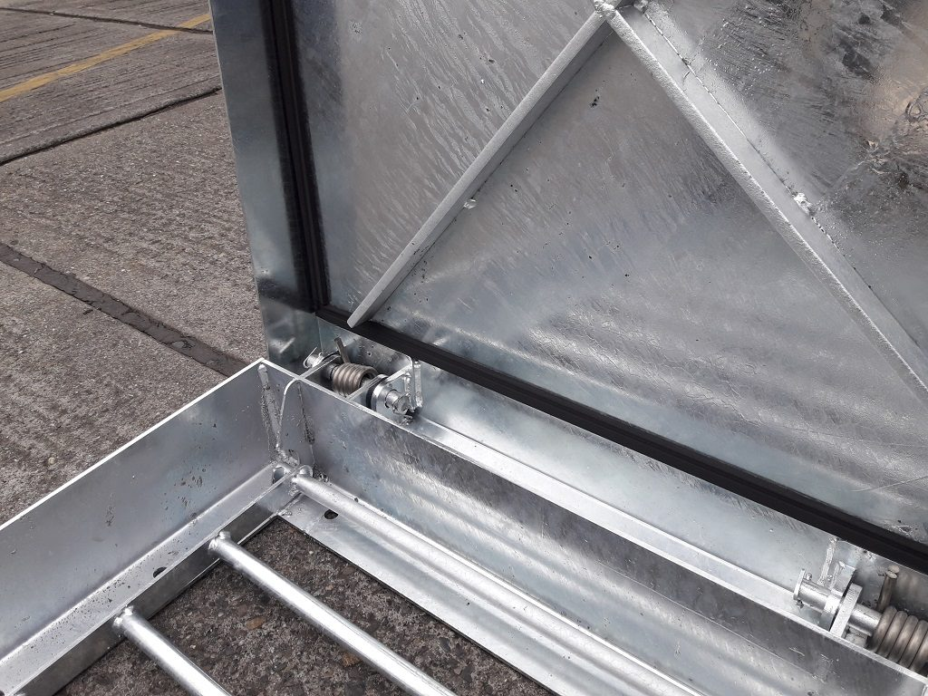 Upstand access covers