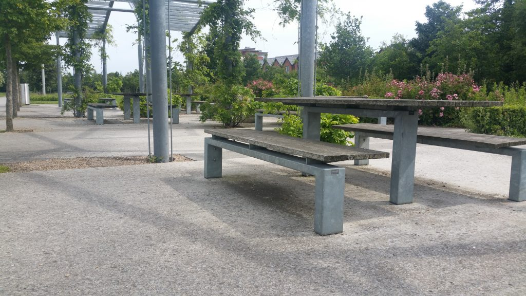 Galvanized park equipment