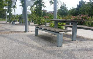 galvanised street furniture