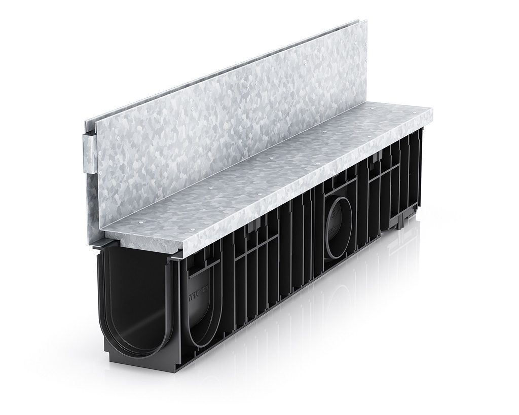 d400 loading channel drainage slotted channel
