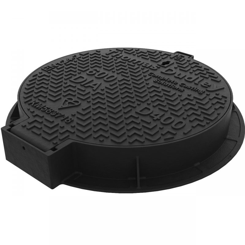 D400 ductile iron sewer cover EF922123