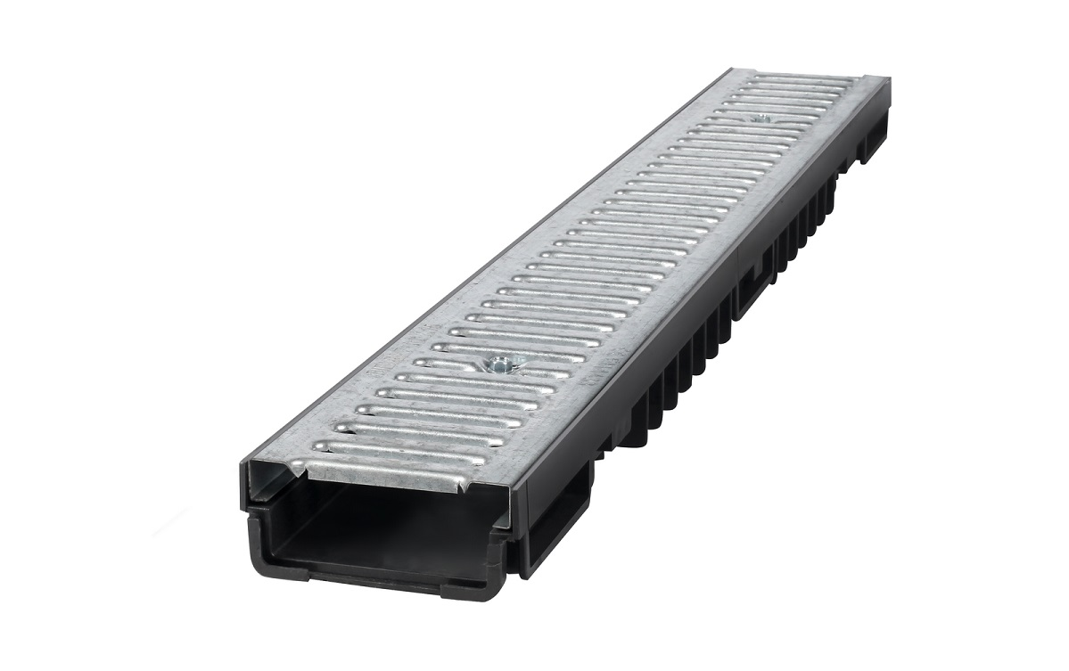 A15 Drainage Channel Galvanized Grate BBET0076