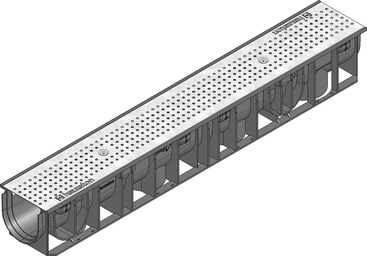 A15 Drainage Channel Perforated Galvanized Grating 41270