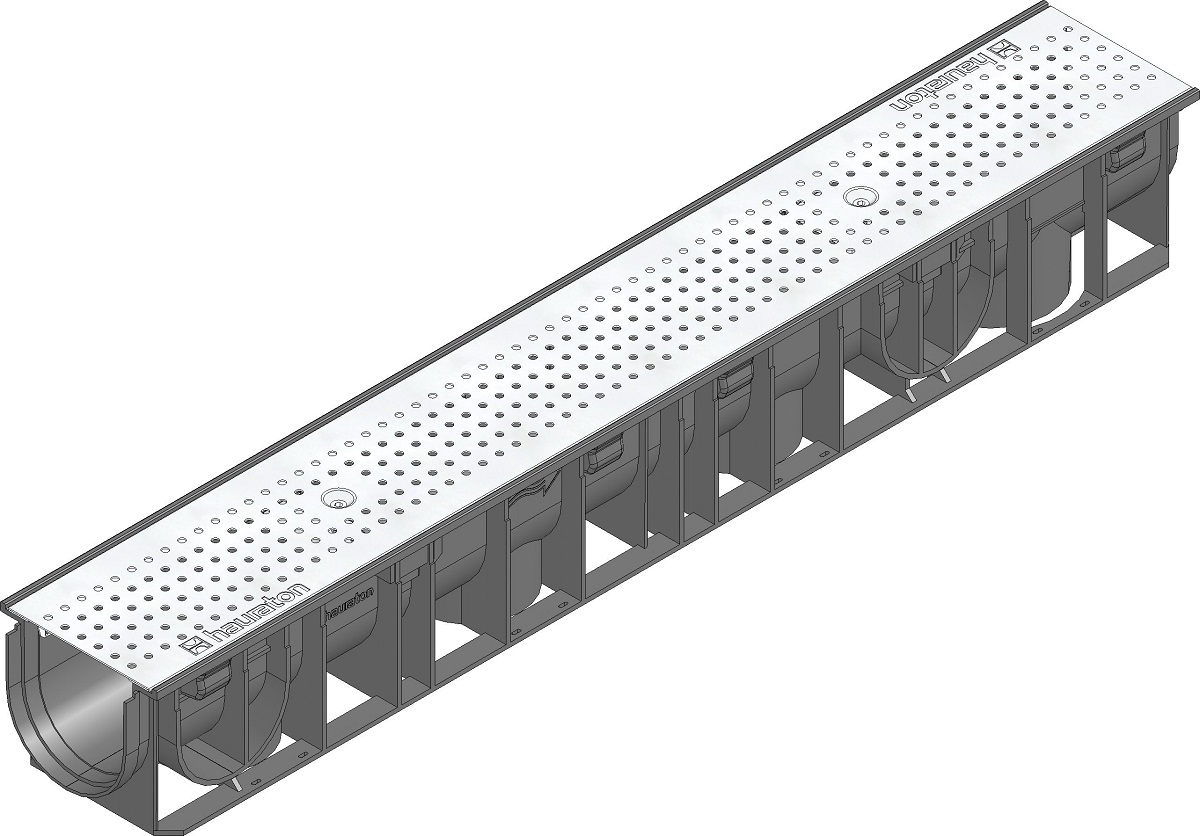 A15 Drainage Channel Perforated Stainless Grating 41240
