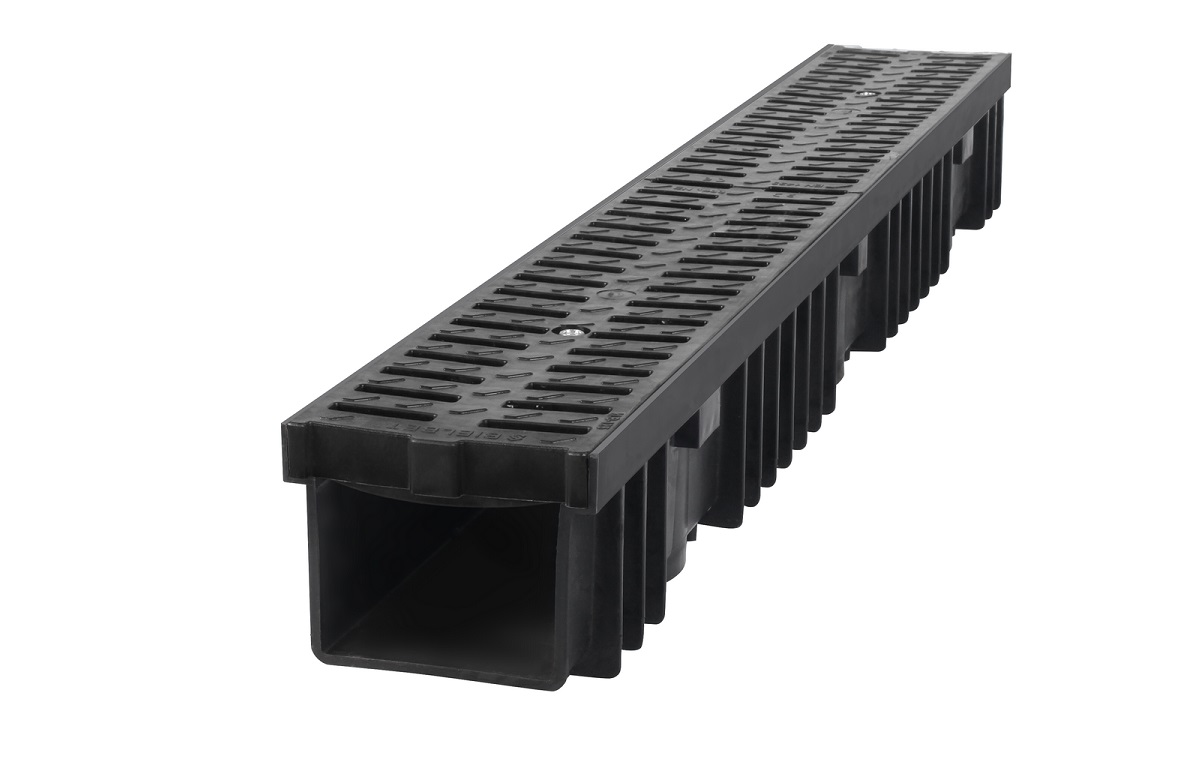 B125 Polypropylene Channel Plastic grating BBET0213