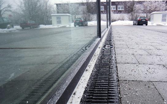 drainage cleaining winter