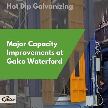 Waterford Galvanizing Bath